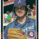 1985 Donruss Baseball Jeff Dedmon Braves #554