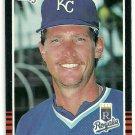1985 Donruss Baseball Mark Huismann Royals #583