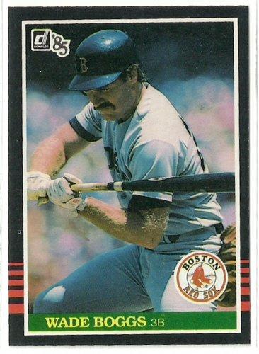 1985 Donruss Baseball Wade Boggs Red Sox #172