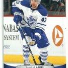 2011 Upper Deck Hockey Nazem Kadri Leafs #22