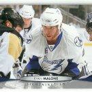 2011 Upper Deck Hockey Ryan Malone Lightning #27