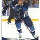 2011 Upper Deck Hockey David Perron Blues #38