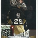 2011 Upper Deck Hockey Marc-Andre Fleury Penguins #50