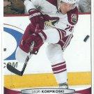 2011 Upper Deck Hockey Lauri Korpikoski Coyotes #55