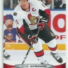 2011 Upper Deck Hockey Daniel Alfredsson Senators #67