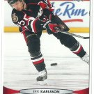 2011 Upper Deck Hockey Erik Karlsson Sentors #68