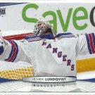 2011 Upper Deck Hockey Henrik Lundqvist Rangers #73
