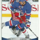 2011 Upper Deck Hockey Brandon Dubinsky Rangers #77