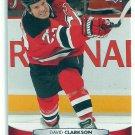2011 Upper Deck Hockey David Clarkson Devils #92