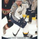2011 Upper Deck Hockey Patric Hornqvist Predators #93