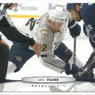 2011 Upper Deck Hockey Mike Fisher Predators #98