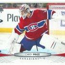 2011 Upper Deck Hockey Carey Price Canadiens #99