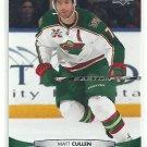 2011 Upper Deck Hockey Matt Cullen Wild #111