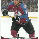 2011 Upper Deck Hockey Jay McClement Avalanche #155