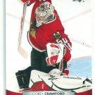 2011 Upper Deck Hockey Corey Crawford Blackhawks #165