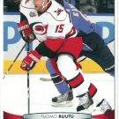 2011 Upper Deck Hockey Tuomo Ruutu Hurricanes #171