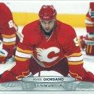 2011 Upper Deck Hockey Mark Giordano Flames #178