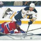2011 Upper Deck Hockey Nathan Gerbe Sabres #185