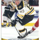 2011 Upper Deck Hockey Brad Marchand Bruins #189