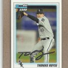 2010 Bowman Draft Thomas Royse White Sox #BDPP52