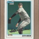 2010 Bowman Draft Seth Rosin Giants #BDPP55