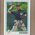 2010 Bowman Draft Cito Culver Yankees #BDPP73