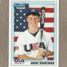 2010 Bowman Draft Marc Brakeman USA #BDPP94