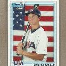 2010 Bowman Draft Adrian Marin USA #BDPP102