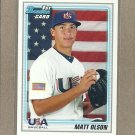 2010 Bowman Draft Matt Olson USA #BDPP104
