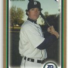 2010 Bowman Draft Gold Border Will Rhymes Tigers #BDP108
