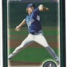 2010 Bowman Draft Chrome John Ely Dodgers #BDP17