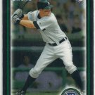 2010 Bowman Draft Chrome Jeff Frazier Tigers #BDP88