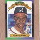 1989 Donruss Baseball DK Gerald Perry #22