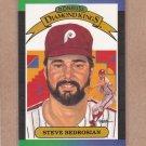 1989 Donruss Baseball DK Steve Bedrosian #24