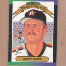 1989 Donruss Baseball DK Glenn Davis #25