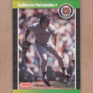 1989 Donruss Baseball Guillermo Hernandez Tigers #62