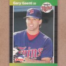 1989 Donruss Baseball Gary Gaetti Twins #64