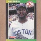 1989 Donruss Baseball Lee Smith Red Sox #66