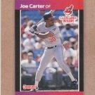 1989 Donruss Baseball Joe Carter Indians #83