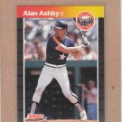 1989 Donruss Baseball Alan Ashby Astros #88