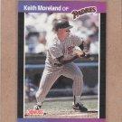 1989 Donruss Baseball Keith Moreland Padres #111