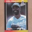 1989 Donruss Baseball Willie Wilson Royals #120