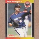 1989 Donruss Baseball Bob Knepper Astros #123