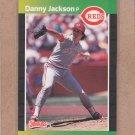 1989 Donruss Baseball Danny Jackson Reds #124