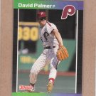 1989 Donruss Baseball David Palmer Phillies #133