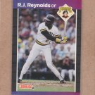 1989 Donruss Baseball R.J. Reynolds Pirates #134