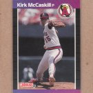 1989 Donruss Baseball Kirk McCaskill Angels #136
