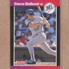 1989 Donruss Baseball Steve Balboni Mariners #143