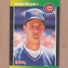 1989 Donruss Baseball Jamie Moyer Cubs #157