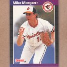 1989 Donruss Baseball Mike Morgan Orioles #164